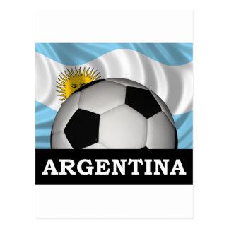 Fútbol la Argentina Tarjetas Postales