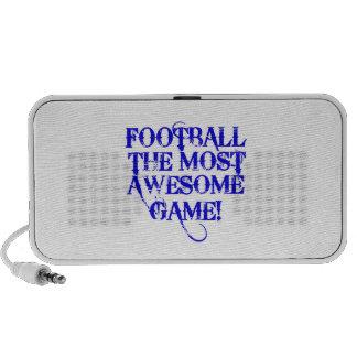 ¡fútbol la mayoría del juego impresionante! mp3 altavoz