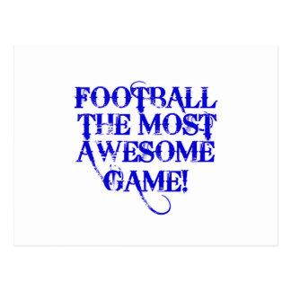 ¡fútbol la mayoría del juego impresionante! postales