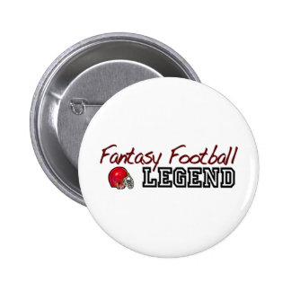 Fútbol Legend2 de la fantasía Pins