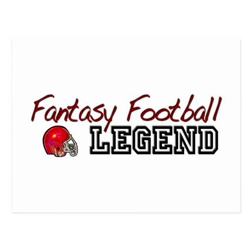 Fútbol Legend2 de la fantasía Postales