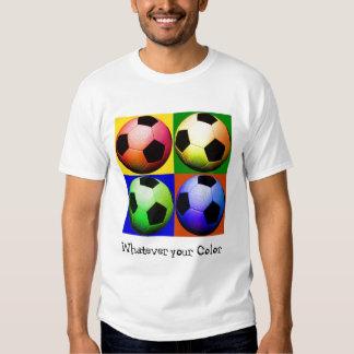 Fútbol, lo que su color camisas