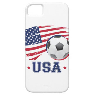 Fútbol los E.E.U.U. iPhone 5 Fundas