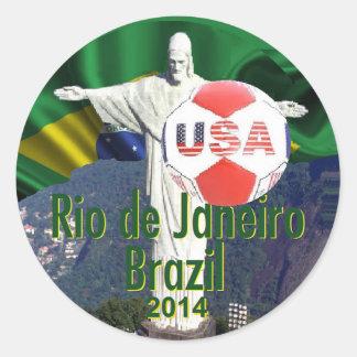 Fútbol los E E U U Río el Brasil