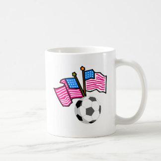 Fútbol los E E U U Taza De Café