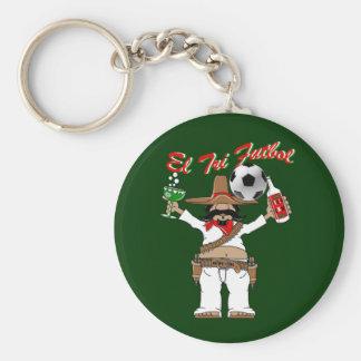 Futbol Mexicano - El Tri fans keyrings Basic Round Button Keychain