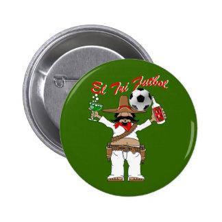 Futbol Mexicano - El Tri fans soccer pin