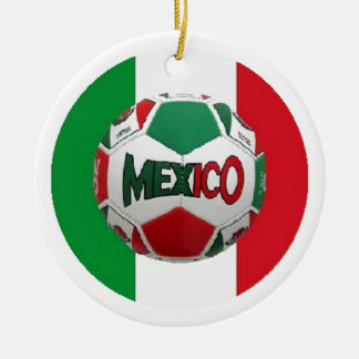 FUTBOL MEXICO CERAMIC ORNAMENT