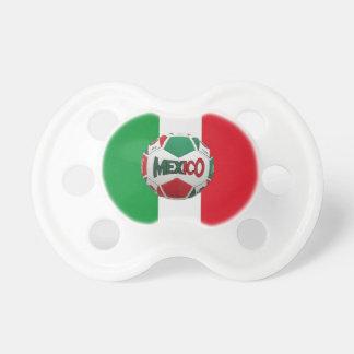 Fútbol México Río el Brasil Chupetes De Bebe