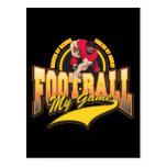 Fútbol mi juego tarjetas postales