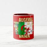 Fútbol MMX África del fútbol de Argelia 2010 regal Tazas De Café