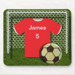 Fútbol Mouepad personalizado tema del fútbol Alfombrilla De Ratón