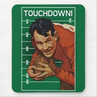Fútbol Mousepad del vintage