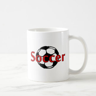 Fútbol (negro del Rd) Taza Clásica
