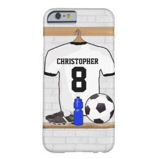 Fútbol negro personalizado Jer del fútbol del