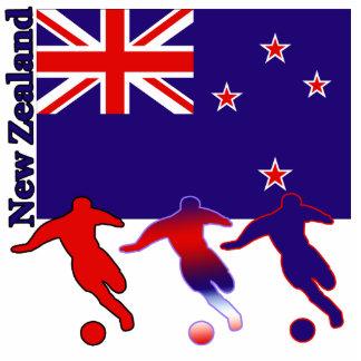 Fútbol Nueva Zelanda Escultura Fotografica
