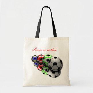 Fútbol o nada bolso bolsa tela barata