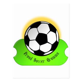 Fútbol orgulloso Gramma Postales