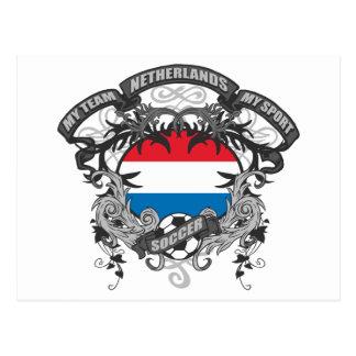 Fútbol Países Bajos Postal