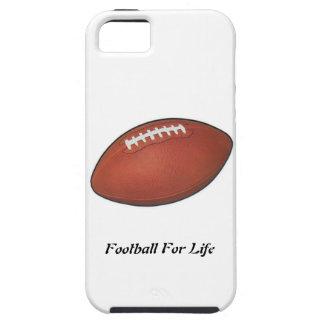 Fútbol para la vida iPhone 5 carcasas