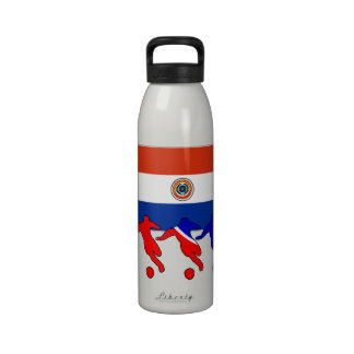 Fútbol Paraguay Botella De Agua