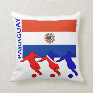 Fútbol Paraguay Cojin