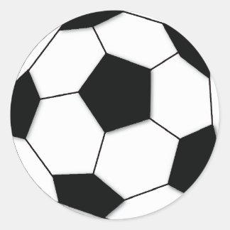 Fútbol Etiquetas Redondas