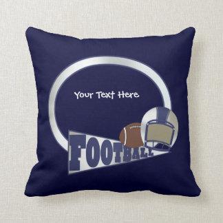 Fútbol (personalizable) almohada