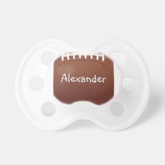 Fútbol personalizado chupete de bebé