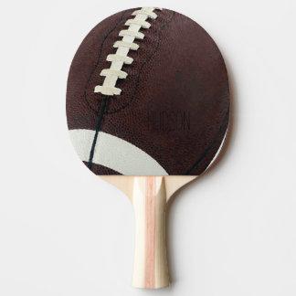 Fútbol personalizado pala de ping pong