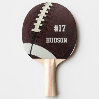 Fútbol personalizado pala de tenis de mesa