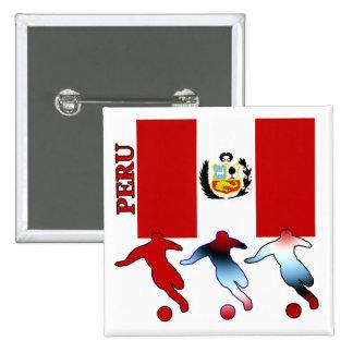Fútbol Perú Pin