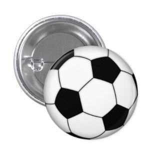 Fútbol Pin-en el botón