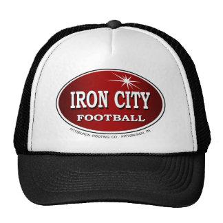 Fútbol Pittsburgh de la ciudad del hierro Gorros