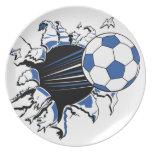 fútbol platos