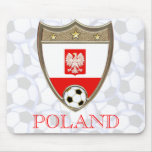 Fútbol polaco tapete de ratón