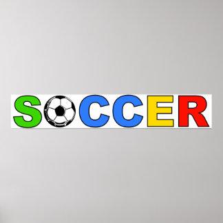 fútbol póster