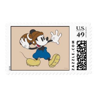 Fútbol que lanza deportivo de Mickey el | Timbre Postal