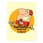 Fútbol qué más camisetas y regalos tarjeta postal