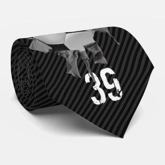 Fútbol rasgado (personalizado) corbatas personalizadas