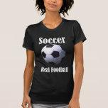 Fútbol real del fútbol camiseta