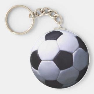 Fútbol real del fútbol llavero redondo tipo pin