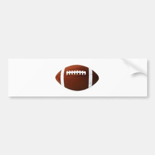 Fútbol retro pegatina de parachoque