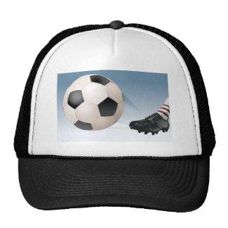 fútbol-retroceso gorras