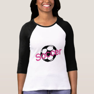 Fútbol (rosa) playera