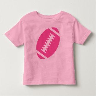 Fútbol rosado delantero del rosa el | del NIÑO del Playera De Bebé