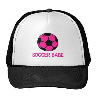 Fútbol rosado gorro de camionero