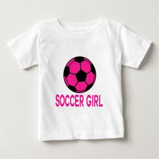 Fútbol rosado playera