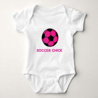 Fútbol rosado polera