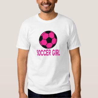 Fútbol rosado poleras